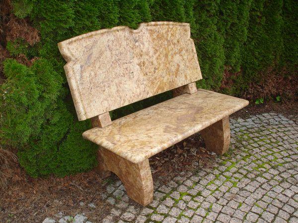 Gartenbänke - Natursteinbetrieb Francisco in Linnich